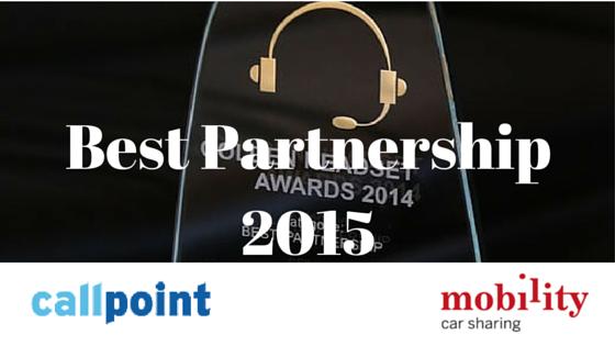 GHSA Best Partnership Award Winner 2015