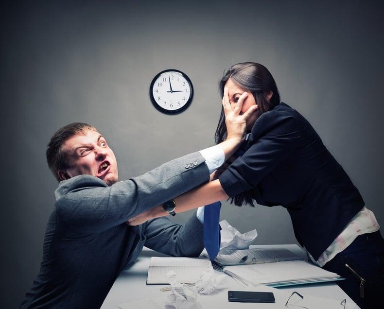 Wenn sich zwei Abteilungen streiten
