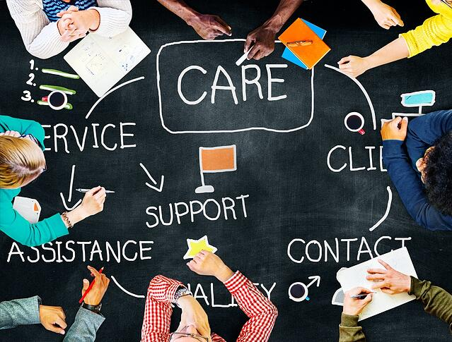 Kundenservice im Mittelpunkt