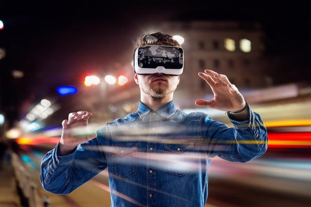 Die Digitalisierung vor Augen