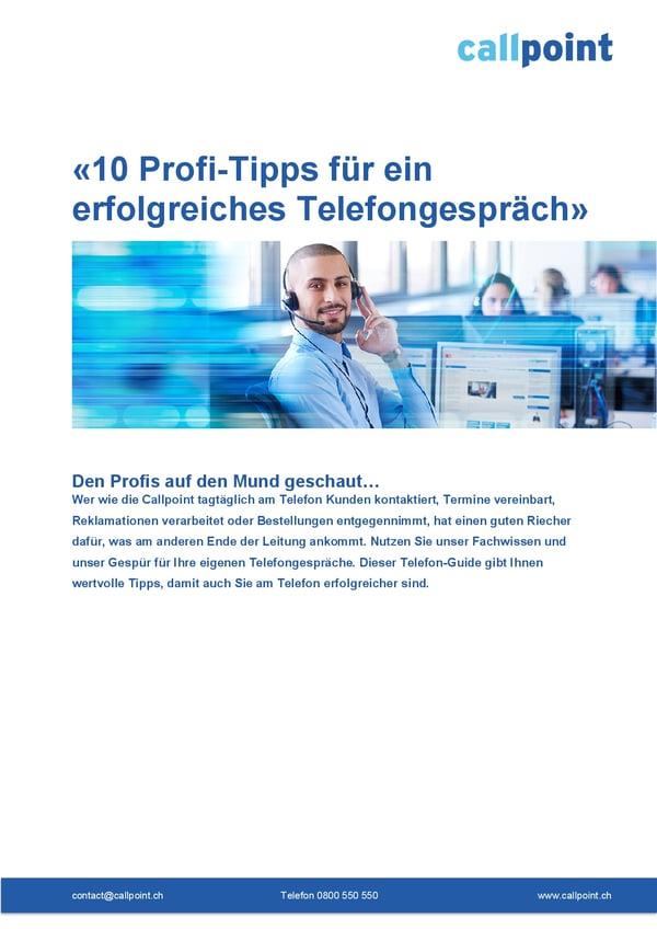 Offer_10 Profi-Tipps für ein erfolgreiches Telefongespräch